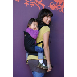 Beco Butterfly II Organic Baby Carrier with Black Base, Metro
