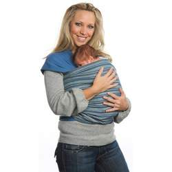 Moby Wrap Moby D Baby Carrier, Indigo Stripes