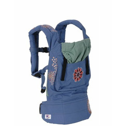 Ergo Baby Organic Baby Carrier Blue Embroid