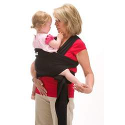 Original Sleepy Wrap Baby Carrier (Black)