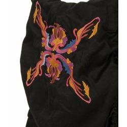Ergo Organic Carrier- Black/embroidery