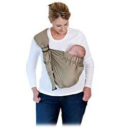 Balboa Baby Adjustable Sling by Dr. Sears - Signature Khaki