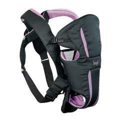 Evenflo Snugli Hug Soft Carrier, Violet