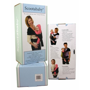 Scootababy Essential Carrier, Charcoal