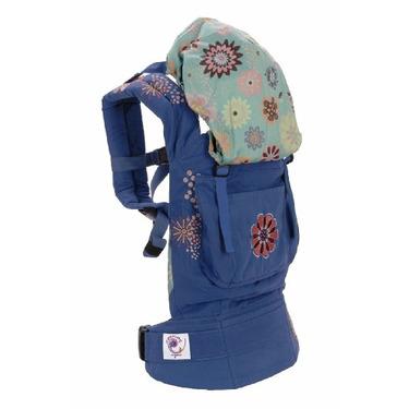 Ergo Baby Organic Carrier Blue Embroideried/Starburst