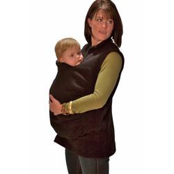 Peekaru Original Fleece Baby Carrier Cover Medium - Black