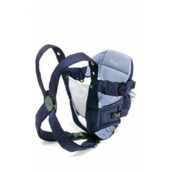Infantino Go Go Rider Carrier in Navy/Blue Plaid