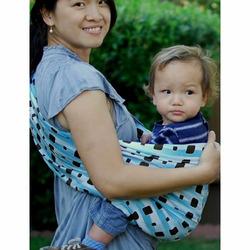 Lite-on-Shoulder Ring/pouch hybrid Baby Sling(Arabic Night)