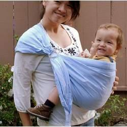 Lite-on-Shoulder Baby Sling(Baby Blue)