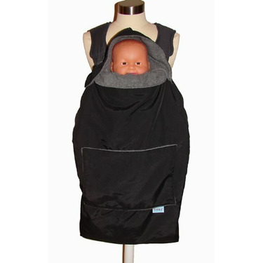 Tivoli Couture Mommy's Hug Baby Carrier Cover and Wearable Blanket, New York