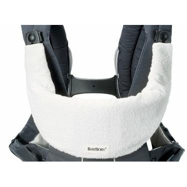 Babybjörn Bib for Comfort Carrier, White
