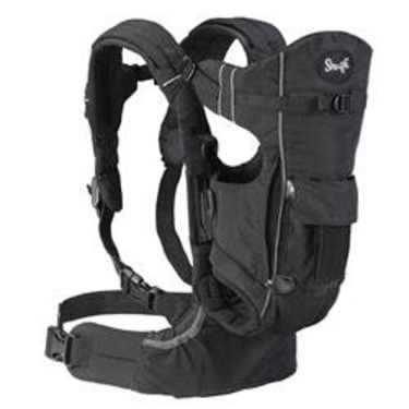 Evenflo Snugli Front Amp Back Pack Soft Carrier Onyx