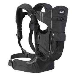 Evenflo Snugli Front & Back Pack Soft Carrier - Onyx