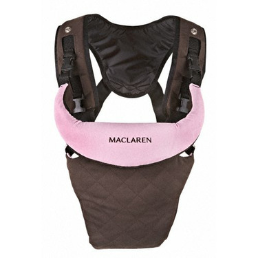 Maclaren Baby Carrier, Coffee and Pink
