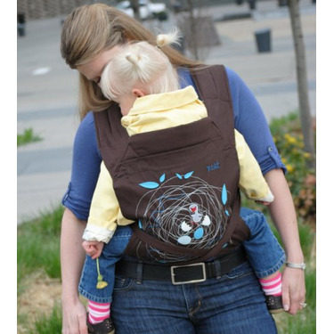 FreeHand Mei Tai Baby Carrier Embroidered Designs, Nest
