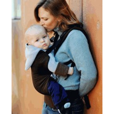 Beco Butterfly II Baby Carrier in Espresso