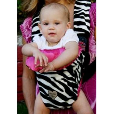 Baby Carrier Cover in Zoe Zebra - Carrier Type: Active