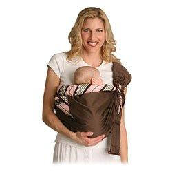 Balboa Baby Adjustable Sling - Pink and Brown