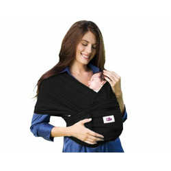 My Baby Nest Baby Carrier, Classic Black, Large/X-Large