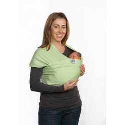 Moby Organic Wrap Baby Carrier - Celery