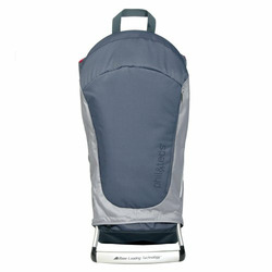Phil&Teds Metro Back Carrier - Grey/ Charcoal