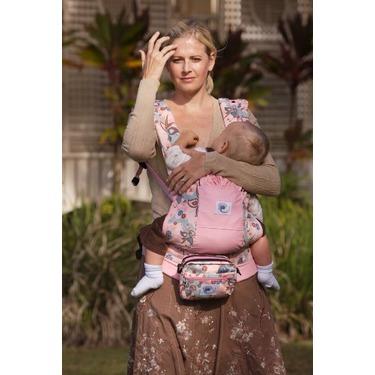 Ergo Baby Back Pack Carrier - Heartrose/Rose