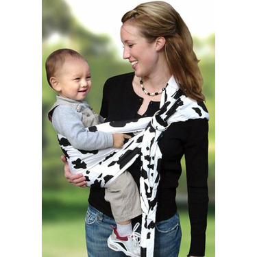 Lite-on-Shoulder Baby Sling(Moo-Cow)