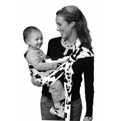 Lite-on-Shoulder Ring/pouch hybrid Baby Sling(Angelical)