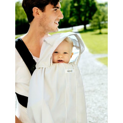 BABYBJÖRN Sun Cover for Baby Carrier, White