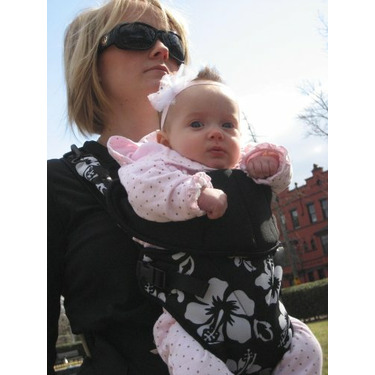 SportsBaby all purpose front carrier in Hibiscus
