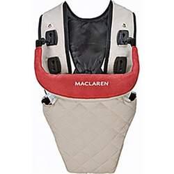 Maclaren Quilted Baby Carrier - Tan/Crimson