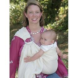 Maya Wrap LPS-67-M Baby Sling- Natural- MEDIUM