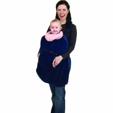 Protect-a-Bub sweetNP Sweet Adeline Carrier Cover -Navy with Pink Trim