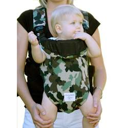 Baby Bella Maya - Front Pack Cover - Daddy Camo Carrier Type: Original
