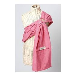 Maya Wrap Lightly Padded Baby Sling-Pink Stripes-Medium