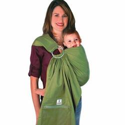 Zolowear Organic Cotton Baby Sling Avocado, Medium