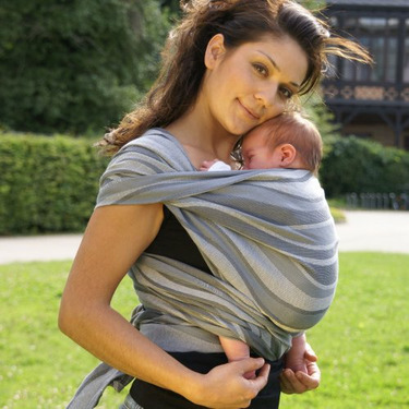 Didymos Baby Carrier Waves - Silver, Size 6