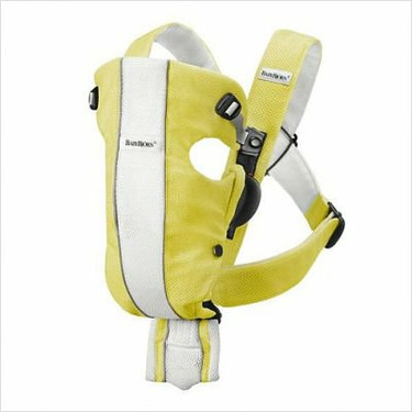 Baby Bjorn Air Baby Carrier in Yellow / White