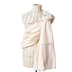 Maya Wrap Lightly Padded Sling in Undyed Ivory