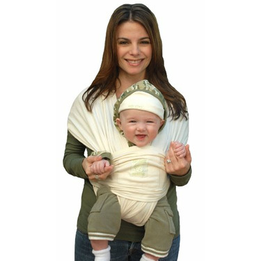 Baby K'Tan Organic Baby Carrier, Natural, Extra Small