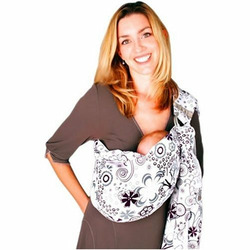 Zolowear Cotton Baby Sling Plum Blossom, Medium
