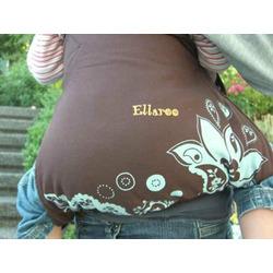 Ellaroo Mei Hip Baby Carrier - Mango/Mahogany