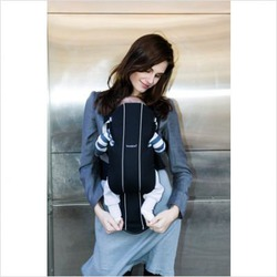 Baby Bjorn Active Baby Carrier in Black / Silver
