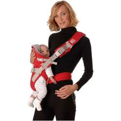 Euro-Baby Red Castle Sport Carrier Red
