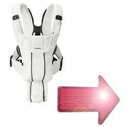 Baby Bjorn Synergy Carrier with Free LED Safety Reflector Light - White
