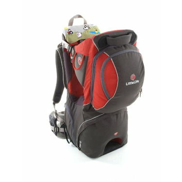 Littlelife Voyager S2 Child Carrier, Red/Charcoal