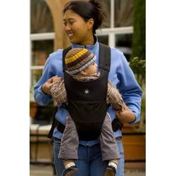 Belle Baby Carriers with Head Support, Black