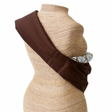 """Balboa Baby for Target """"Dr. Sears"""" Adjustable Sling - Chocolate/Blue"""