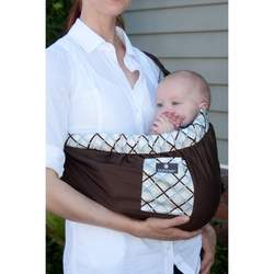 "Balboa Baby for Target ""Dr. Sears"" Adjustable Sling - Chocolate/Blue"