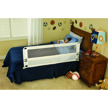 Regalo Hide Away Extra Long Bed Rail - White